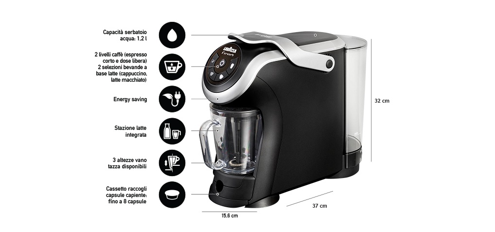 Lf400 milk lavazza firma